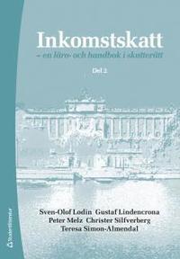 bokomslag Inkomstskatt del 2 - en läro- och handbok i skatterätt