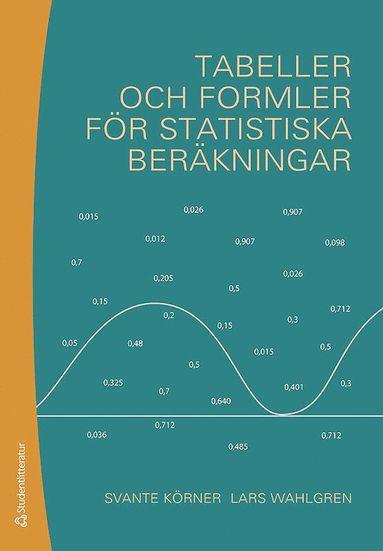 bokomslag Tabeller och formler för statistiska beräkningar