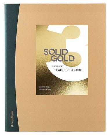 bokomslag Solid Gold 3 Lärarmaterial