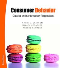bokomslag Consumer Behavior - Classical and Contemporary perspectives