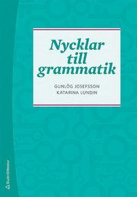 bokomslag Nycklar till grammatik