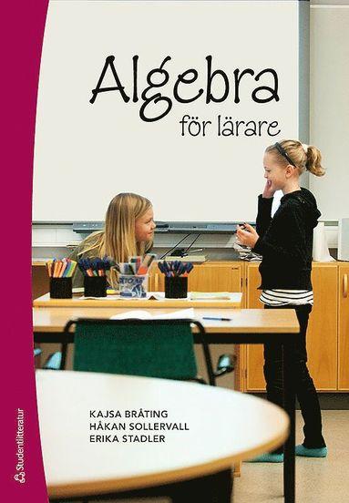 bokomslag Algebra för lärare