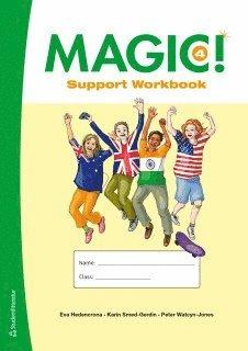 bokomslag Magic! 4  Support Workbook