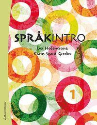 bokomslag Språkintro 1 elevpkt  (Bok + dig.prod)
