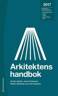 bokomslag Arkitektens handbok 2017