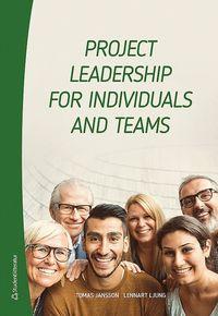 bokomslag Project leadership for individuals and teams