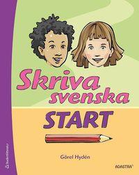 bokomslag Skriva svenska start