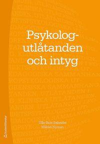 bokomslag Psykologutlåtanden och intyg