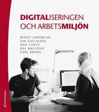 bokomslag Digitaliseringen och arbetsmiljön