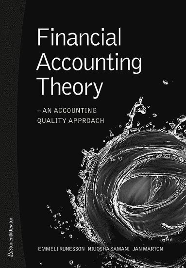 bokomslag Financial accounting theory : an accounting quality approach
