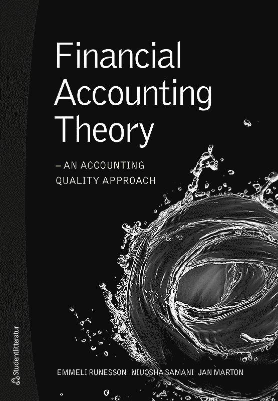 Financial accounting theory : an accounting quality approach 1