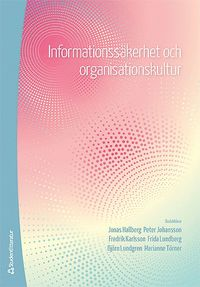 bokomslag Informationssäkerhet och organisationskultur