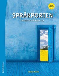 bokomslag Språkporten 1, 2, 3 Elevpaket - Digitalt + Tryckt - Svenska som andraspråk 1, 2 och 3, tredje upplagan