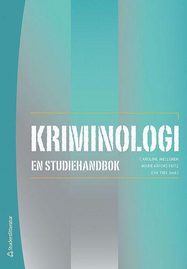 bokomslag Kriminologi : en studiehandbok