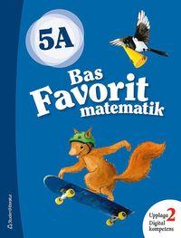 bokomslag Bas Favorit matematik 5A Elevpaket - Digitalt + Tryckt