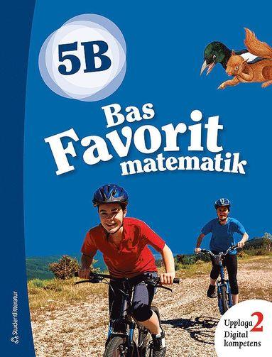 bokomslag Bas Favorit matematik 5B Elevpaket - Digitalt + Tryckt