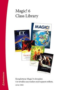 bokomslag Magic! 6 Class Library - Easy readers (4 st.) med ordlista