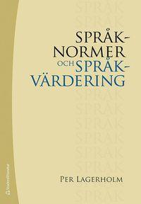 bokomslag Språknormer och språkvärdering