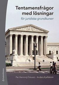 bokomslag Tentamensfrågor med lösningar : för juridiska grundkurser