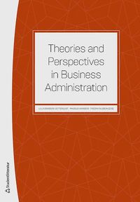 bokomslag Theories and perspectives in business administration