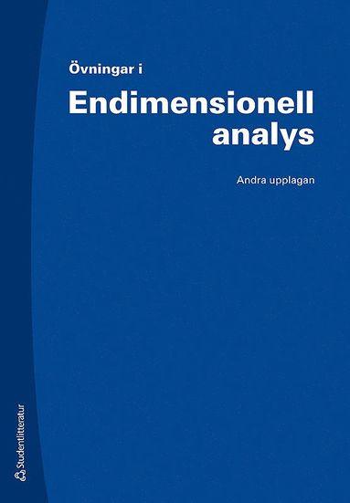 bokomslag Övningar i Endimensionell analys