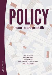bokomslag Policy i teori och praktik