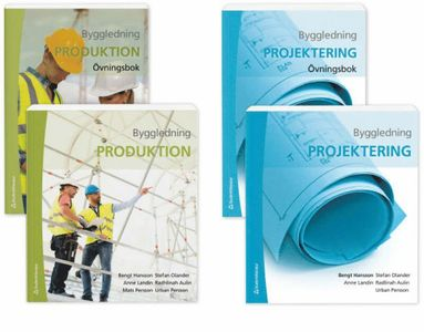 bokomslag Byggledning - Paket - projektering och produktion med övningar