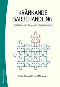 bokomslag Kränkande särbehandling - Rättssäker utredningsmetodik i arbetslivet