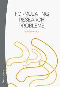 bokomslag Formulating research problems