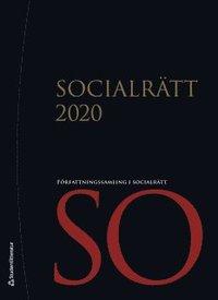 bokomslag Socialrätt 2020 - Författningssamling i socialrätt
