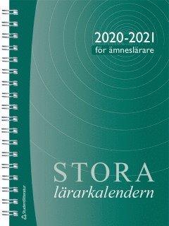 bokomslag Stora ämneslärarkalendern 2020/2021