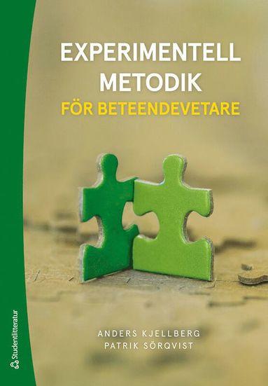 bokomslag Experimentell metodik för beteendevetare -