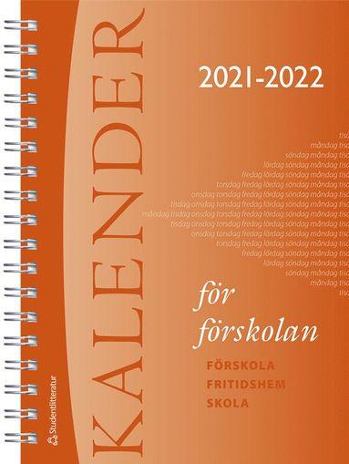 bokomslag Kalender för förskolan 2021/2022