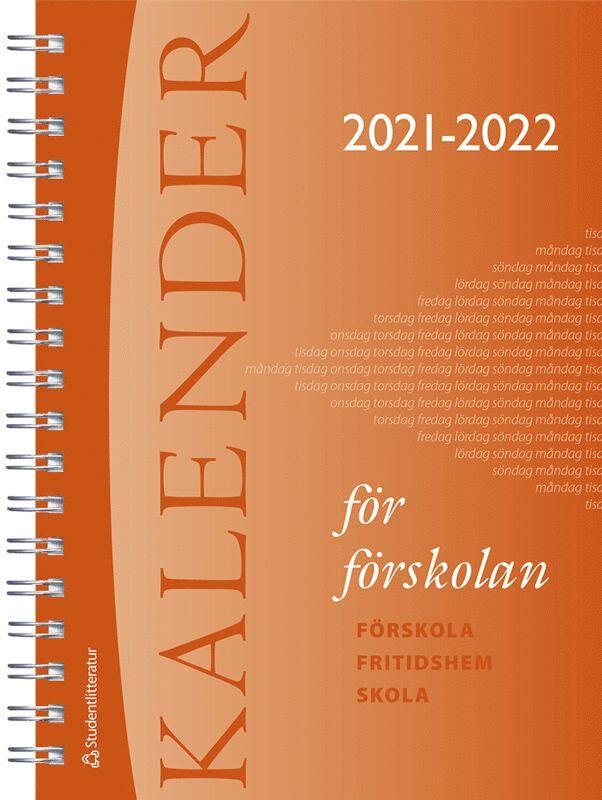Kalender för förskolan 2021/2022 1