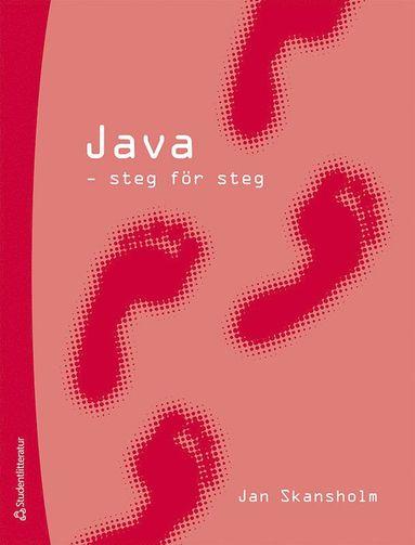 bokomslag Java - steg för steg