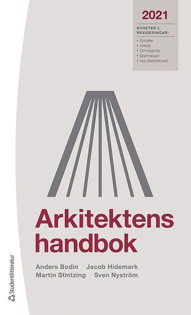 bokomslag Arkitektens handbok 2021