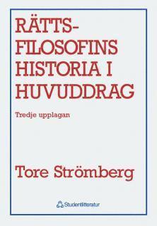 bokomslag Rättsfilosofins historia i huvuddrag