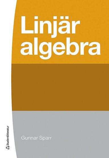 bokomslag Linjär algebra