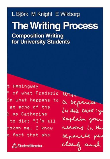 bokomslag The Writing Process - Composition Writing for University Students