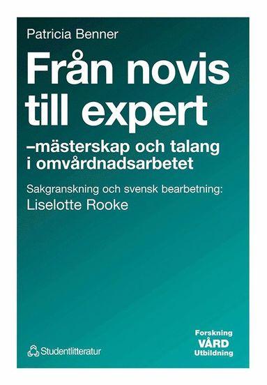 bokomslag Från novis till expert - - mästerskap och talang i omvårdnadsarbetet