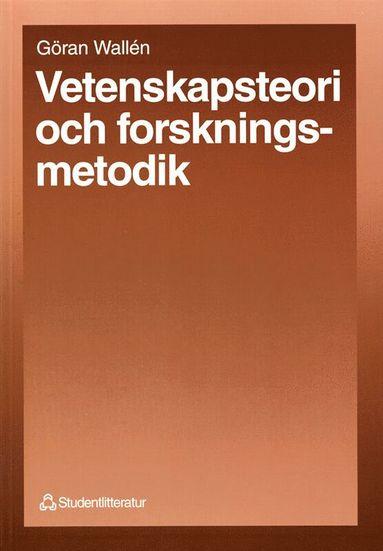 bokomslag Vetenskapsteori och forskningsmetodik