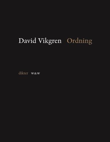 bokomslag Ordning : dikter