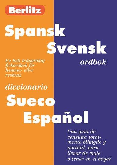 bokomslag Spansk-svensk ordbok = Diccionario sueco-español
