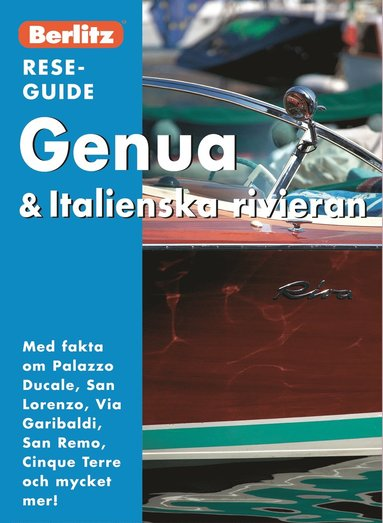 bokomslag Genua & Italienska rivieran