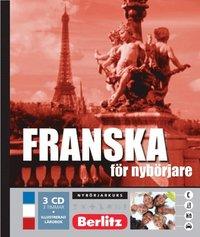 bokomslag Franska för nybörjare, språkkurs - Språkkurs med 3 CD