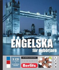 Engelska för nybörjare, språkkurs - Språkkurs med 3 CD