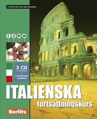 bokomslag Italienska fortsättningskurs, språkkurs - Språkkurs med 3