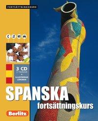 Spanska fortsättningskurs, språkkurs - Språkkurs med 3 CD
