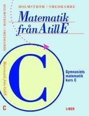 bokomslag Matematik från A till E Kurs C