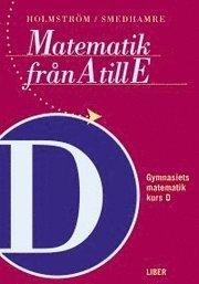 bokomslag Matematik från A till E Kurs D